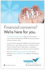 Financial concerns? Vision Credit Uniont is here for you.
