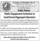 Public Engagement Invitation to Sand/Gravel/Aggregate Operators