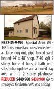 143 acres fenced and cross fenced with a large dug out, pipe fenced yard