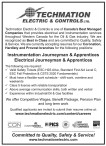 Instrumentation Journeyman & Apprentices Electrical Journeyman & Apprentices wanted