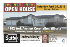 Open House with Sutton Landmark Realty
