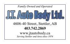 J.T. Auto Body Serving Stettler and Area