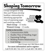 Groups designed to help Men and Women develop healthier relationships