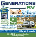 Time to Winterize with Generations RV
