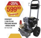 EVERCRAFT 2,500-PSI GAS PRESSURE WASHER