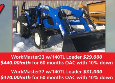 WorkMaster33 and WorkMaster37 at Tri-Ag