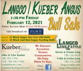 LANGCO / KUEBER ANGUS Bull Sale