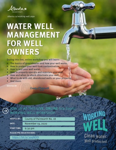 Water Well Management for well owners