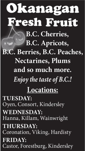 Enjoy the taste of B.C. with Okanagan Fresh Fruit