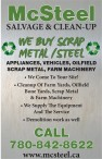WE BUY SCRAP METAL /STEEL