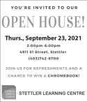 You're invited to our Open House at Campus Alberta Central
