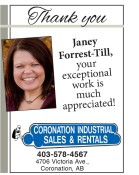 Janey Forrest-Till, your exceptional work is much appreciated!