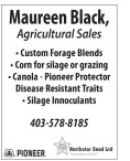 Maureen Black, Agricultural Sales
