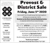 Provost & District Sale