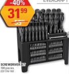 Screwdriver set at Napa Auto Parts