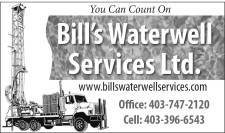 You Can Count On Bill's Waterwell Services