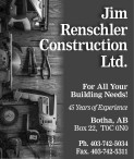 Jim Renschler Construction For All Your Building Needs!
