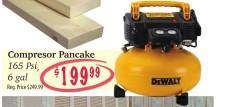 Compressor Pancake