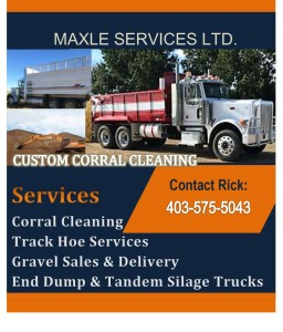 Custom Corral Cleaning Contact Rick: 403-575-5043