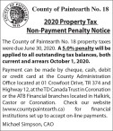 2020 Property Tax Non-Payment Penalty Notice