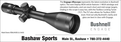 The Engage riflescope represents the latest evolution in Bushnell optics