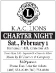 K.A.C. Lions Charter Night