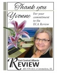 Thank you Yvonne For your commitment to the ECA Review