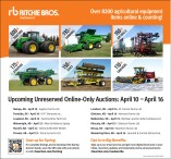 Upcoming Unreserved Online-Only Auctions