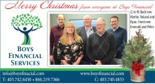 Merry Christmas from everyone at Boys Financial