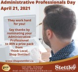 Say thanks by nominating your Administrative Professional