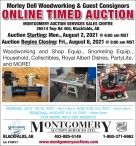 Morley Dell Woodworking & Guest Consignors online timed auction