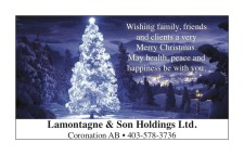 Wishing family, friends and clients a very Merry Christmas