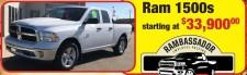 Ram 1500 at Hanna Chrysler