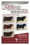 Skor Immentals 18th and Final Annual Red & Black Bull Sale