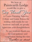 We here at Paintearth Lodge would like to give a Big Thank You