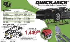 QUICK JACK The Ultimate Car Jack and Support System