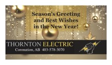 Season's Greeting and Best Wishes in the New Year!