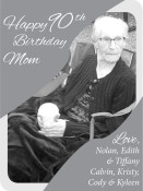 Happy 90th Birthday, Mom