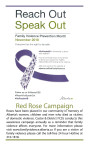 Family Violence Prevention Month