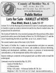 Lots for Sale - HAMLET of NEVIS