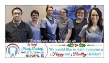 We would like to wish everyone a Happy and Healthy Holiday!