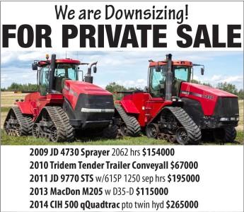 J&e Klassen Farm Private Sale