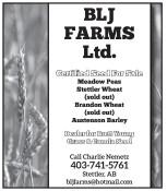 Season's Greetings from BLJ FARMS Ltd.