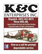 K & C ENTERPRISES: Prompt dependable service