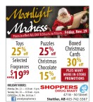 Moonlight Madness at Shoppers Drug Mart