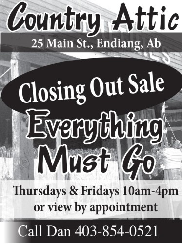 Country Attic Closing Out Sale